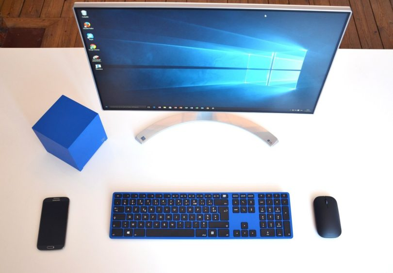 Blue CTRL Keyboard For PC