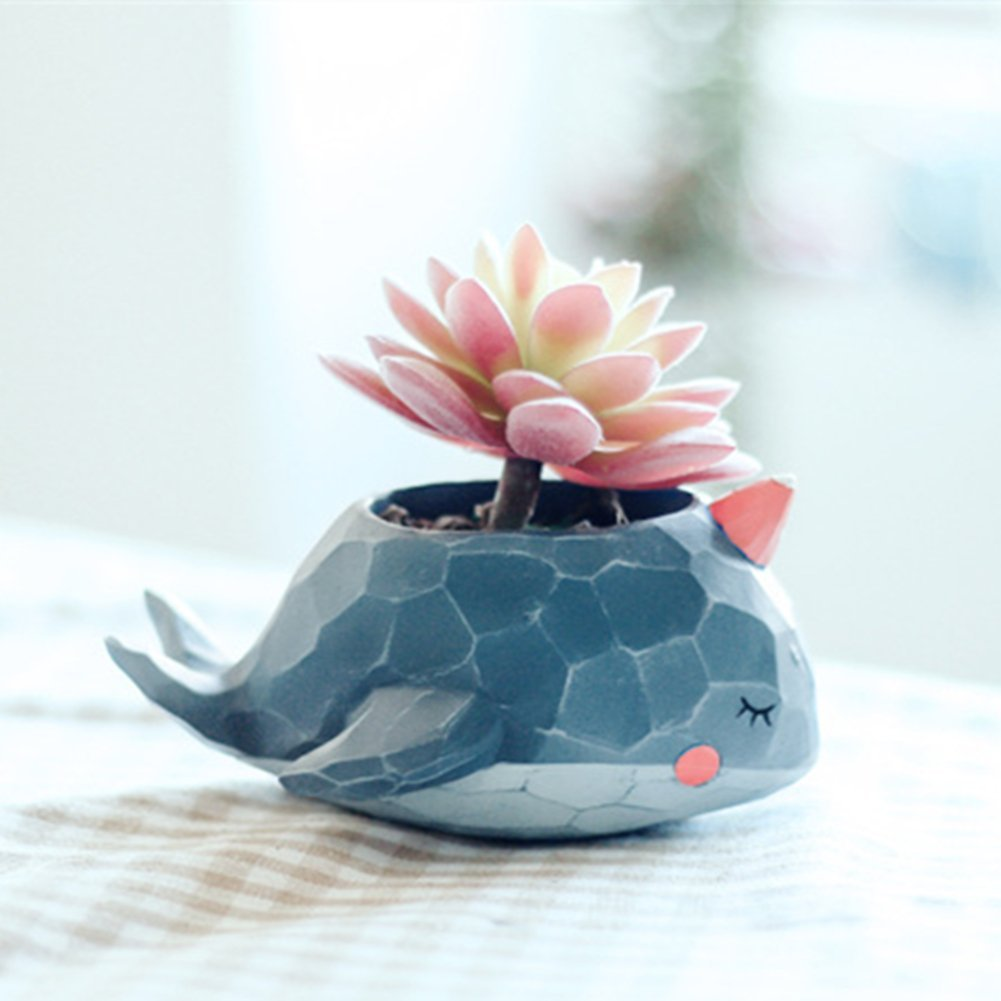 Succulent Pot Cute Animal Shaped Cartoon