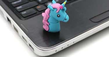 Cartoon Unicorn PVC USB Flash Drive 2.0
