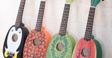 Cute Pineapple Shape Handmade Carving Dapper Beginners Concerts Ukuleles