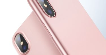 iPhone X Case, ESR Slim Rose Gold Soft TPU Cover