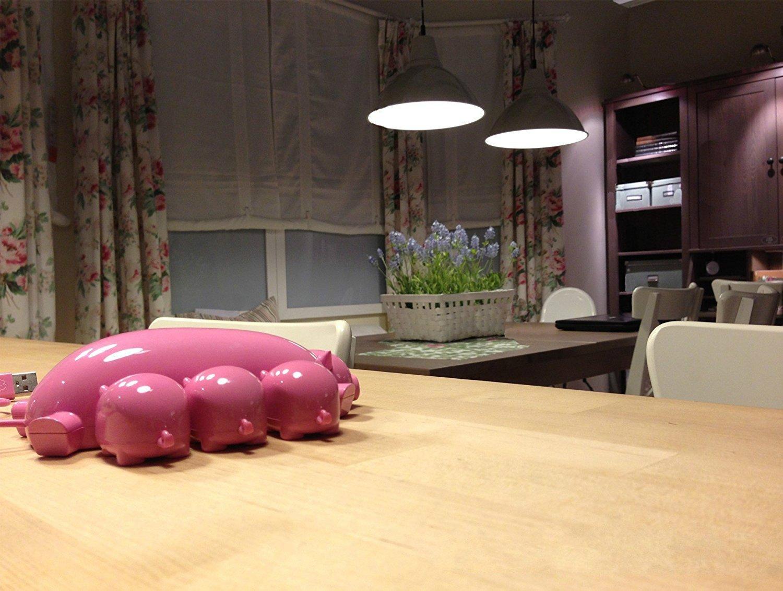 Portable Cute Mom Pig USB Hub