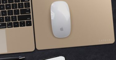 Gold Aluminum Mouse Pad