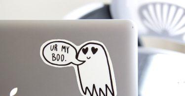 """Ectogasm """"Ur My Boo"""" Cute Ghost Vinyl"""