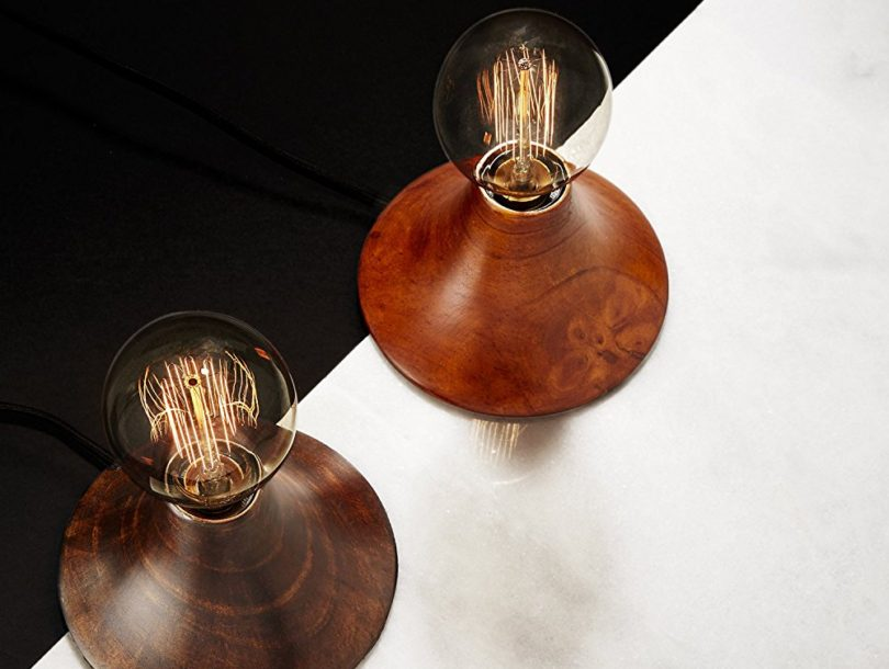 Exposed Bulb Accent Lamp