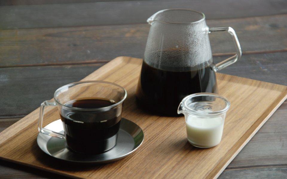 Kinto Carat Coffee Dripper & Pot