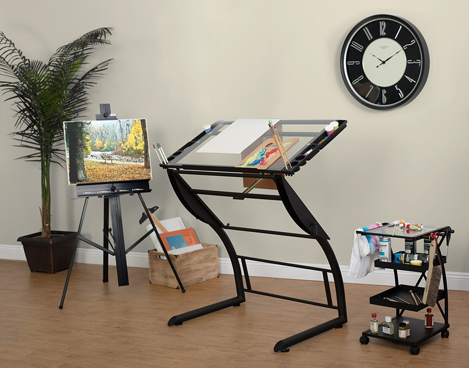 Studio Designs Triflex Sit to Stand Drawing Table