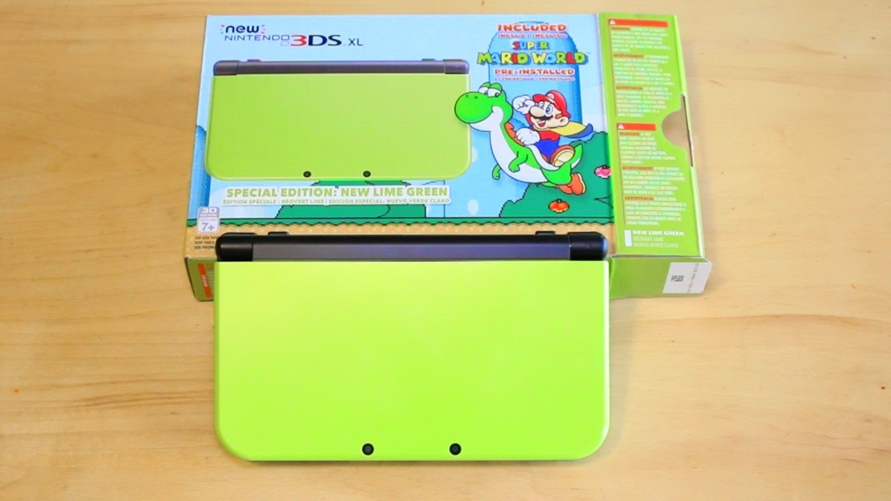 Nintendo New 3DS XL – Lime Green Special Edition