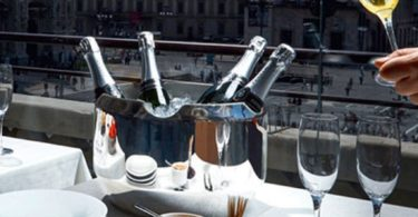 Noè Wine Cooler by Alessi