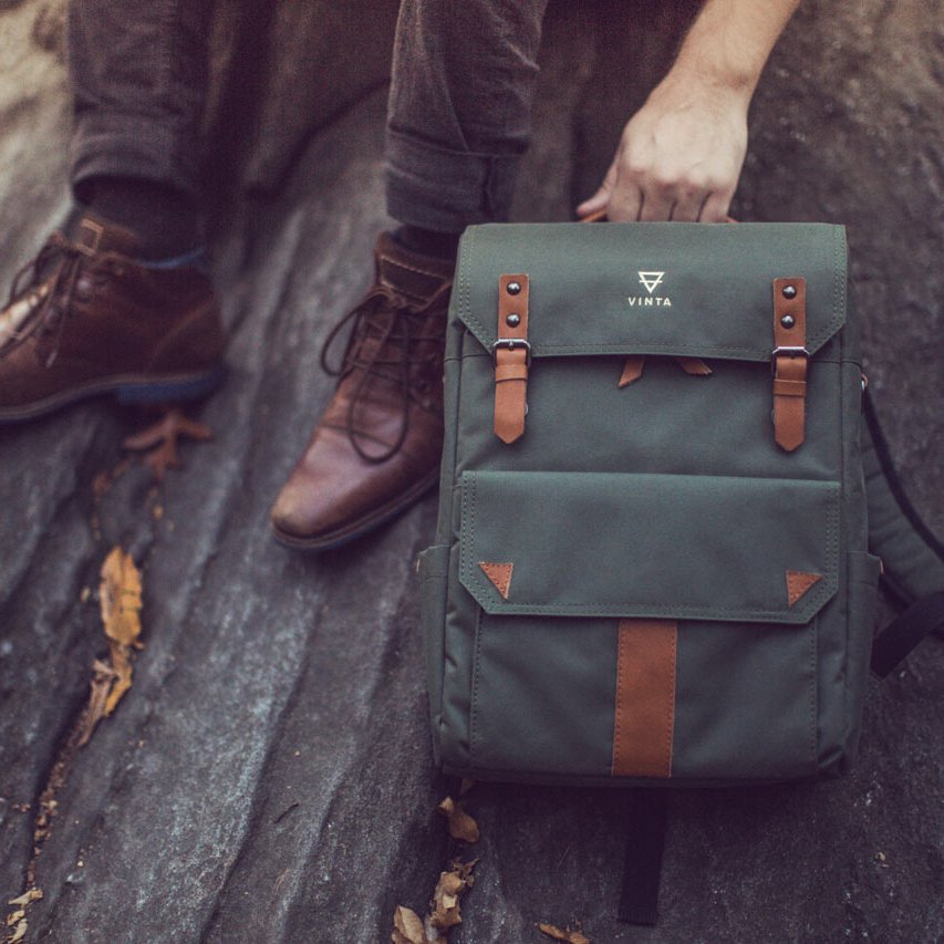 S-Series Forest Travel & Camera Bag by Vinta