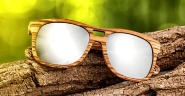 Earth Wood Las Islas Polarized Sunglasses
