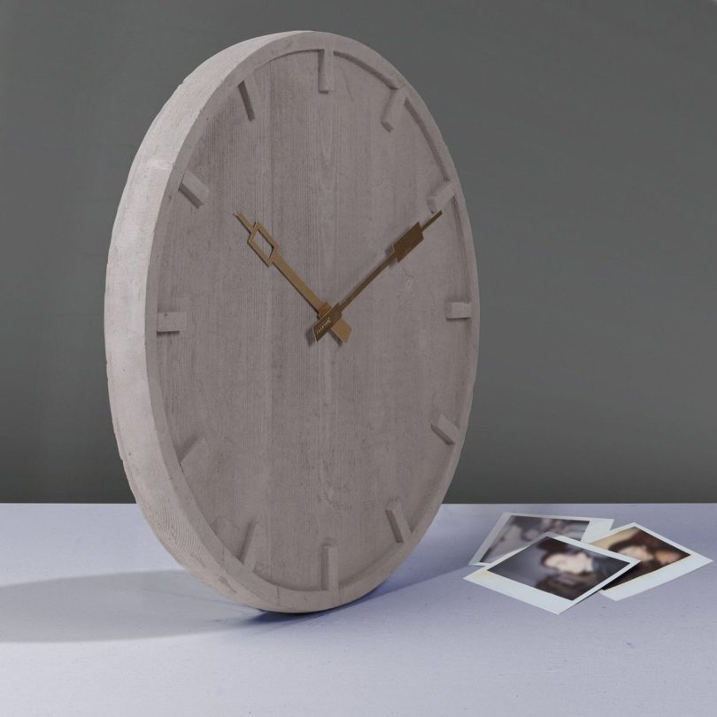 Memento Wall Clock by Seletti