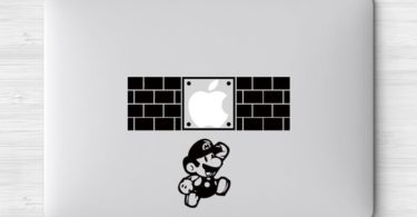 Super Mario Brothers MacBook Decal