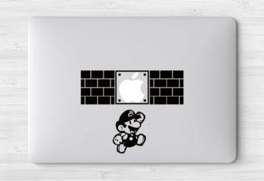 Super Mario Brothers MacBook Decal