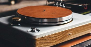 The Runwell Turntable by Shinola