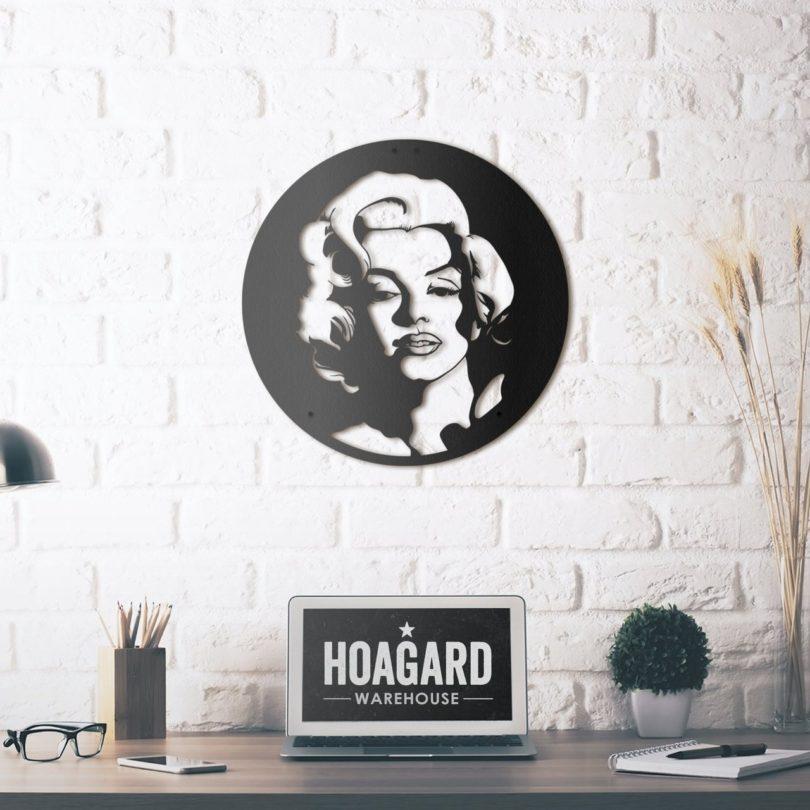 Marilyn Monroe Metal Wall Art