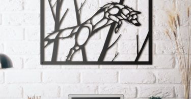 Fox Metal Wall Art