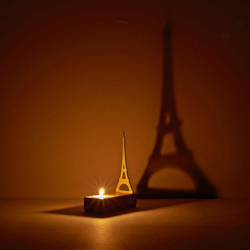 Eiffel Tower Tealight Holder