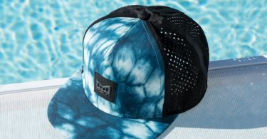 The Nomad Blue Shibori Snapback