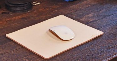 No. 714 Mouse Pad in Natural Tan