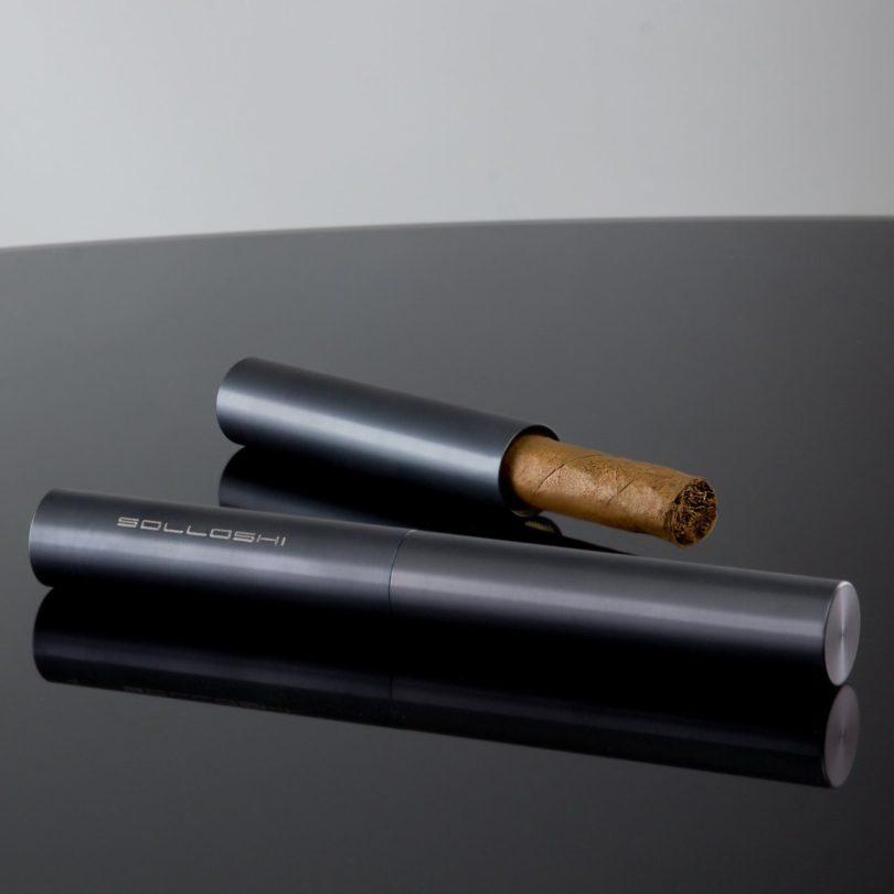 Iapetus Titanium Cigar Tube