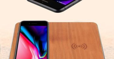 Dual Wooden Fast QI Wireless Charger