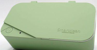 Smartclean Light Green Ultrasonic Eyeglasses Cleaner