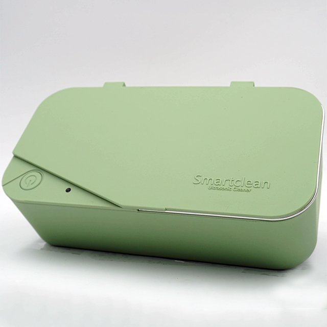 Smartclean Light Green Ultrasonic Eyeglasses Cleaner