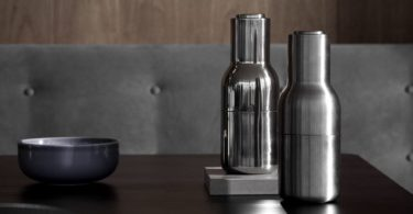 Bottle Grinder Salt & Pepper Mill Set by Menu