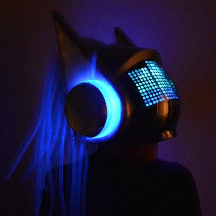 DJ Sona Cosplay Helmet