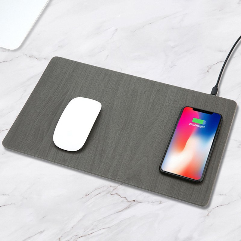size 40 0c802 d247d Wood Grain Wireless Charging Mouse Pad » Petagadget