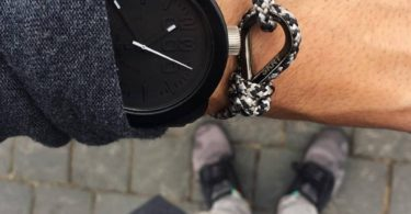 Midnight Black Charging Cable Bracelet