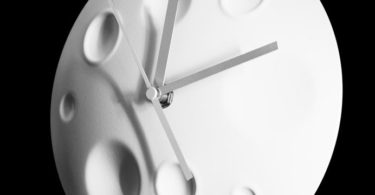 Rocket Moon Clock