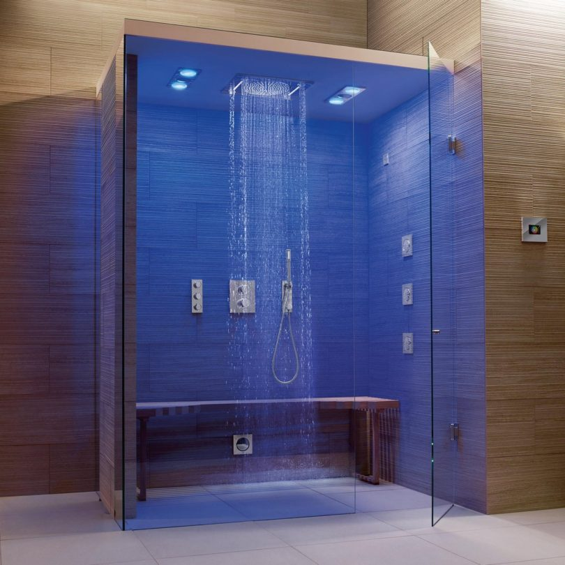 Grohe F-Digital Deluxe Complete Steam Shower » Petagadget