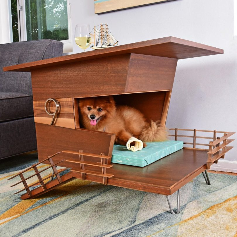 Dog Tower 9 End Table