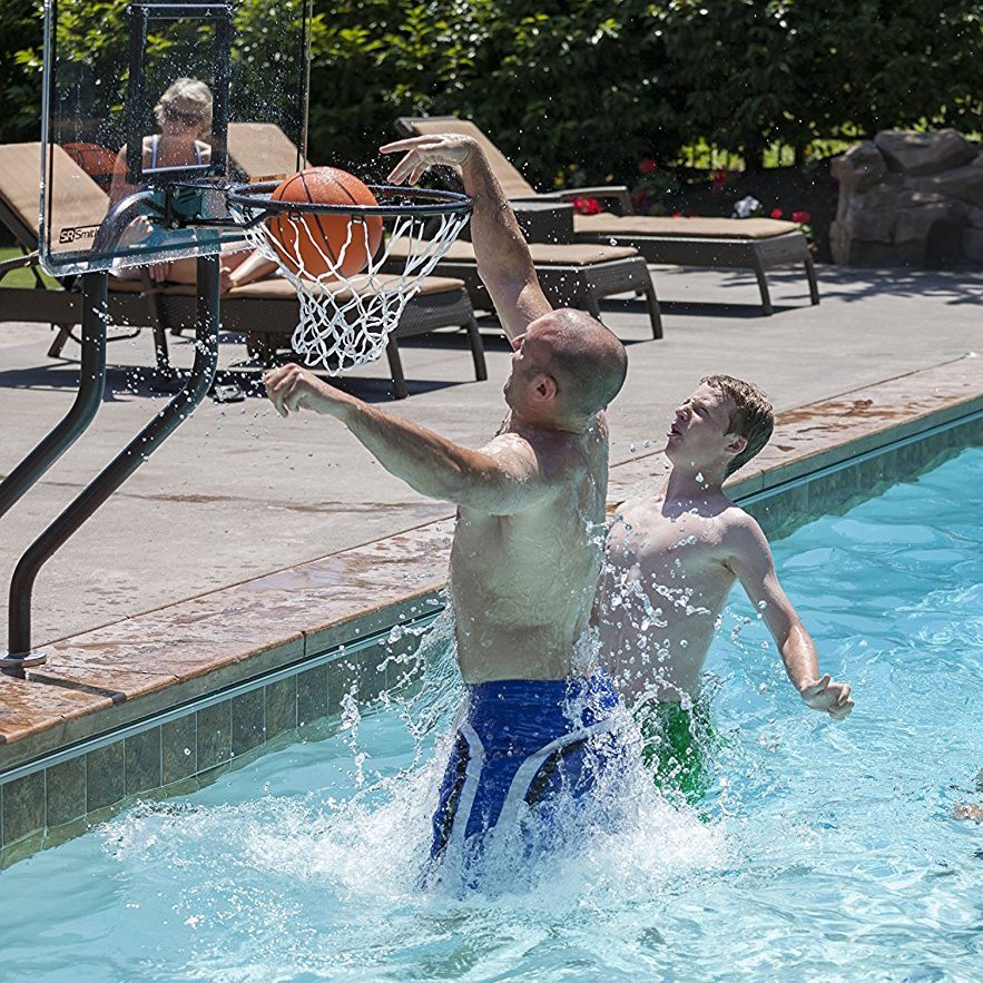 Swim N' Dunk Challenge Basketball Hoop