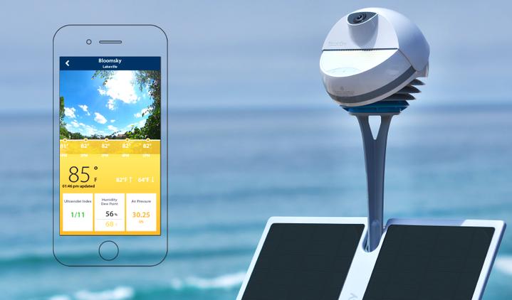 BloomSky SKY2 Weather Camera Station Kit