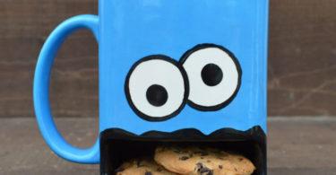 Cookie Monster Cookie Dunk Mug