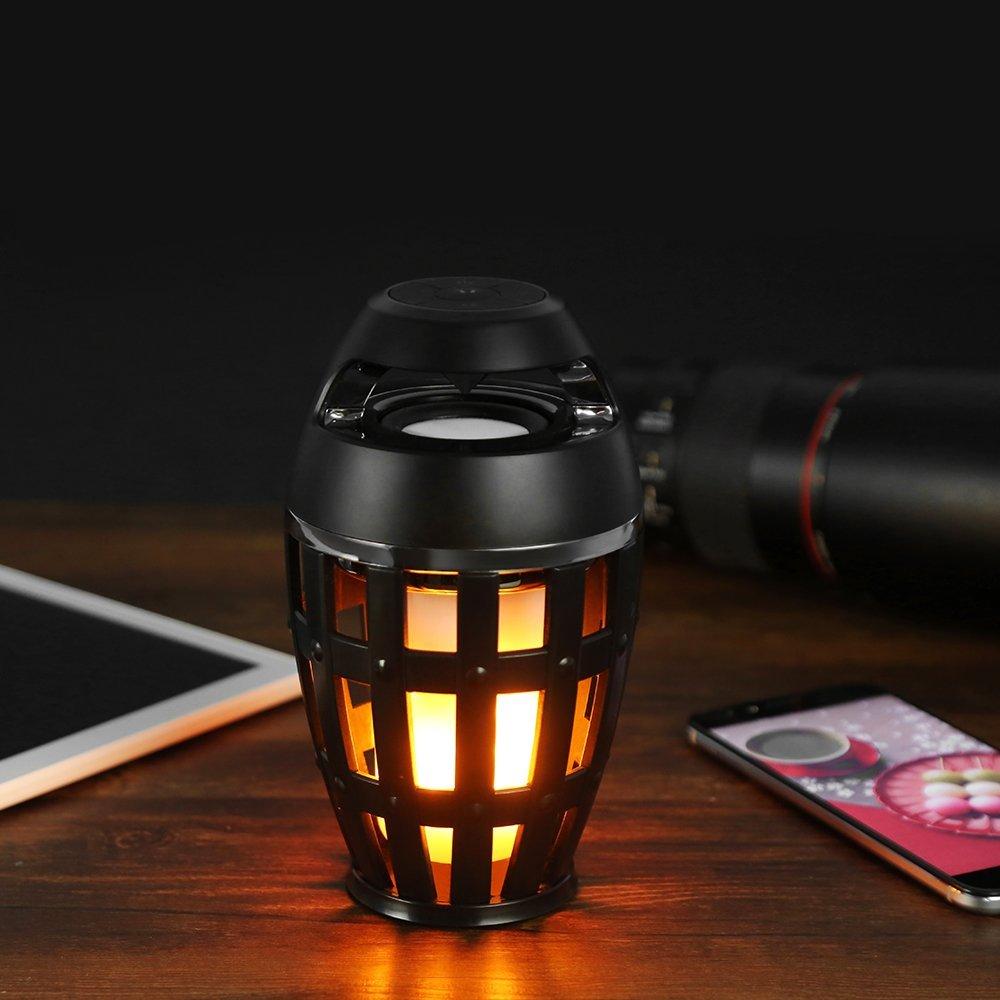 Led flame speaker