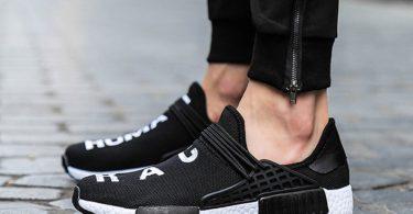 JiYe Men's Running Shoes Free Transform Flyknit Fashion Sneakers