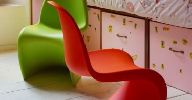 Vitra Panton Junior Chairs by Verner Panton