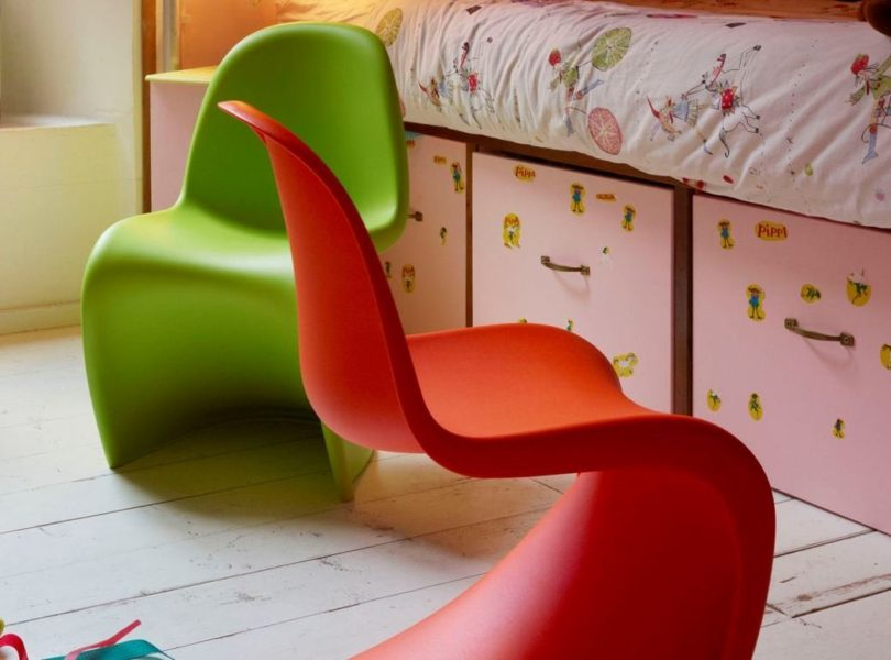 Vitra Panton Junior Chairs by Verner Panton
