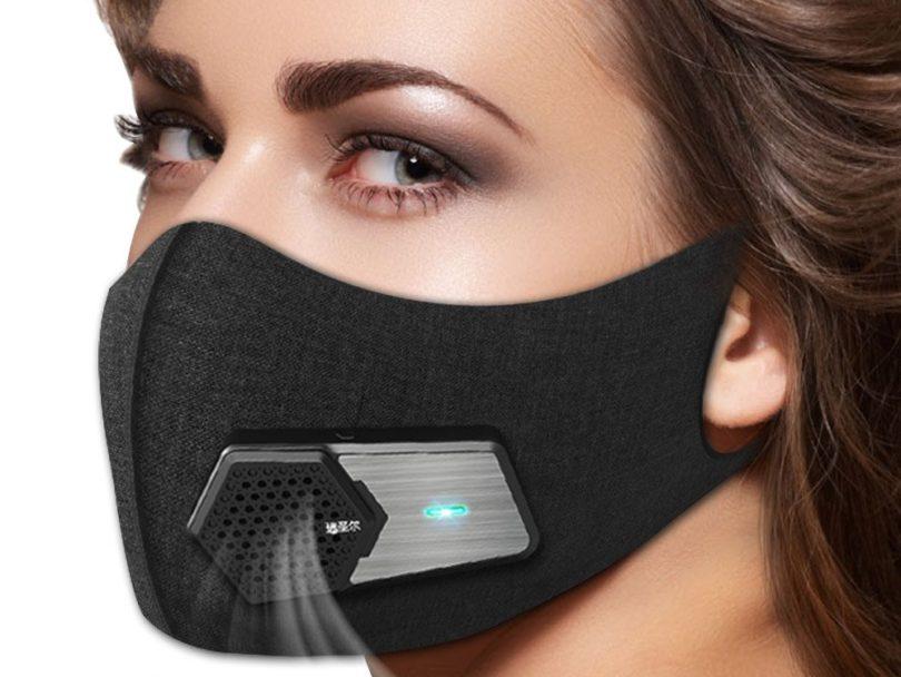 Fresh Air Supply Smart Electric Mask » Petagadget