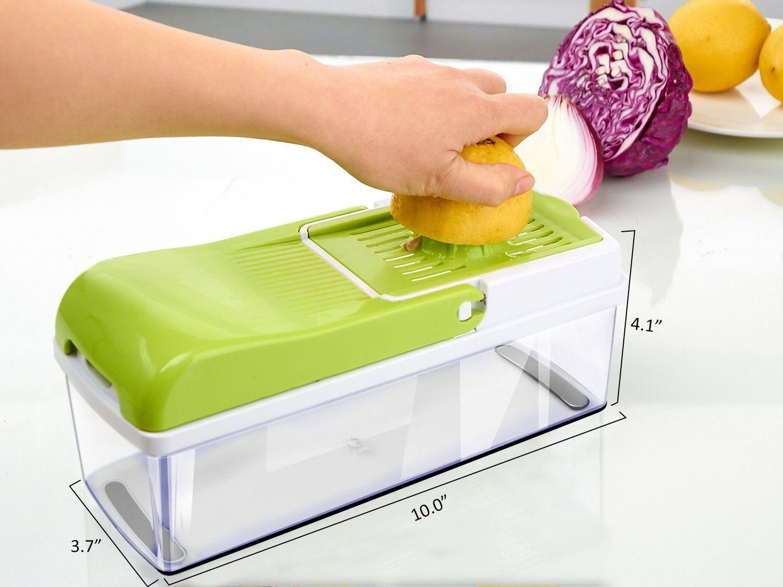 Vegetable Slicer Dicer WEINAS Food Chopper Cuber Cutter » Petagadget