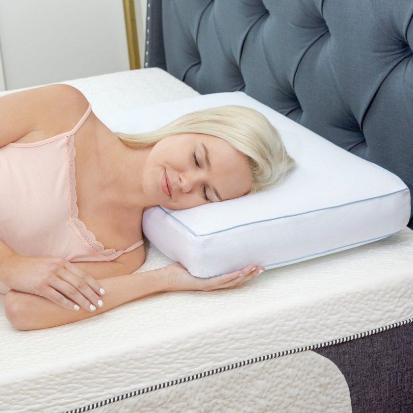 Classic Brands Cool Sleep Ventilated Gel Memory Foam Gusseted Pillow