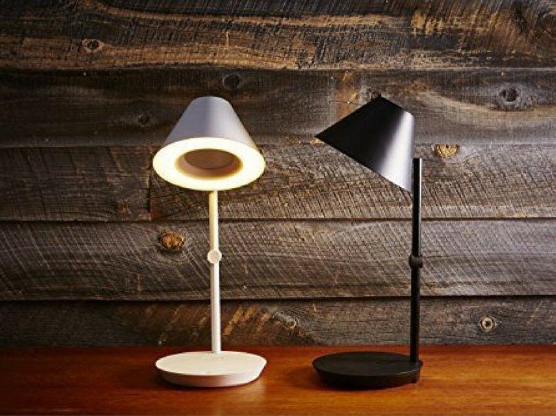 NuAns [CONE] iPhone & iPad Lightning Charging Dock with Speaker & Desk Lamp