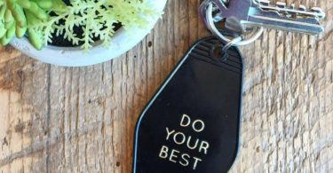 Do Your Best Goodlife Key Tag