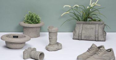 Cement Camera Vase