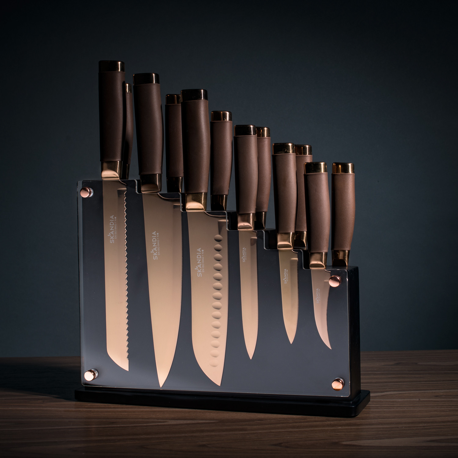 Skandia Forte 13 Piece Knife Block Set 187 Petagadget
