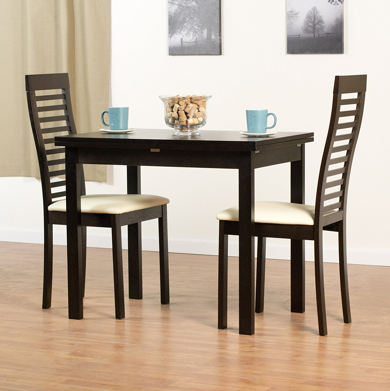 AEON Flex Beechwood Table,Flip Extension, Coffee Finish